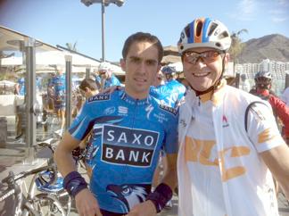 Andreas Suppan & Alberto Contador